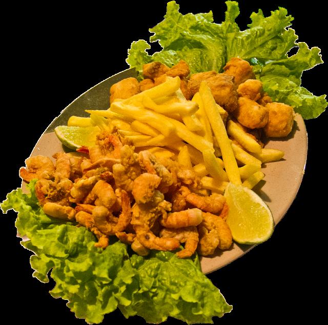 Se o assunto é porções a pedida é o Ebiseto. Uma porção com fritas, peixe fresco e camarão selecionado!